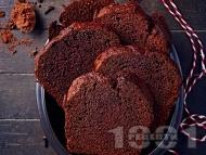 Рецепта Шоколадов сладкиш с кафе и какао